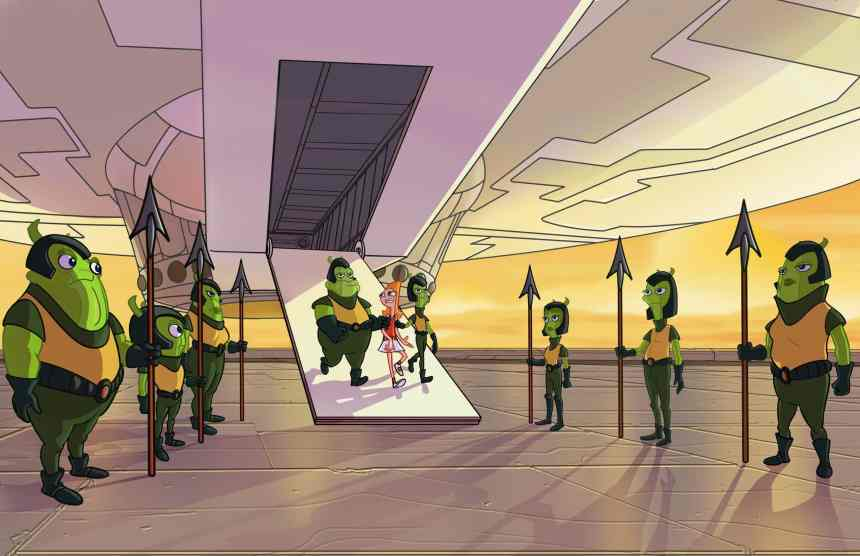 Phineas And Ferb The Movie Candance Against The Universe 2020 Review Jason S Movie Blog